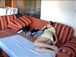 Voyeur cams at girls home 09