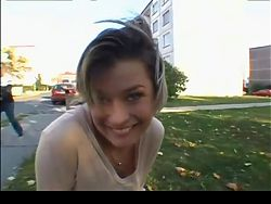 Meeting A Nice Czech Girl in Streets BVR
