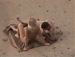 Beach Sex Blondie