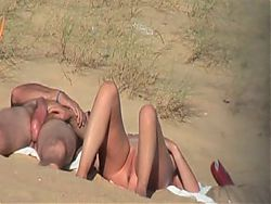 hot couple at the beach