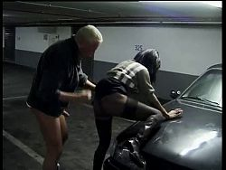 Nice sex in garage