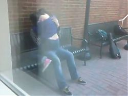 College Students Dry Humping At UNC Chapel Hill