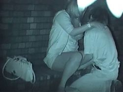 more outdoor nightvision sex in Japan