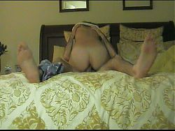 Short Clip of Real Amateur Wife Riding Husband